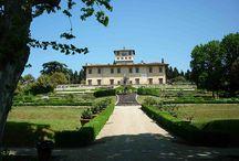 Medici Villas in Tuscany
