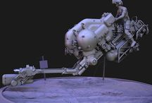 Hover/Pod/Drone/Satellite & Probe vehicles