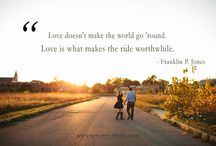 Love Quotations / The most romantic and inspirational quotes on love we've heard of.