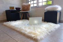 Alfombras modernas piel sintética pelo largo / Hacemos las alfombras de piel sintetica pelo largo de la medida que quieras