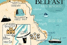 Belfast / Co Antrim / the area where i was born / by Maureen Dickinson