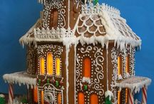 Amazing Gingerbread House Ideas / Where cookies and decor meet...  / by Shari's Berries