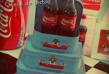 Share a Coke and a Smile / Inspiration for a Coke-a-Cola party