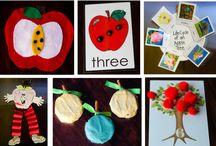 Podzimní vyrábění / Výtvarné činnosti na téma podzim