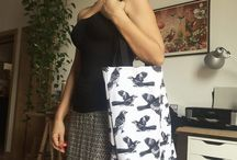 Bags - Totes & Pouches / Decorative printed Totes and Pouch bags