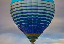 BALLOONS ~ HOT AIR / by Sue Dewland