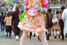 Kawaii / Mostly fashion and outfits thats cute or creepy-cute. A lot of harajuku and stuff.