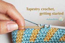 Tapestry crochet - horgolás