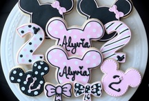 Cookie art micky mouse