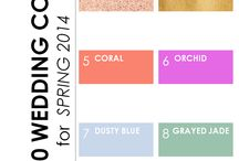 2014 wedding colour trends