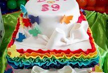 torta arcobaleno