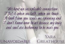 """Unavoidable / Unavoidable is the first book in my """"Girls on Top"""" series of new adult, romance and suspense books. This novel focuses on Brianna - a woman with a troubled past, ready to put it all behind her, and Colton - a man that's used to getting everything he wants until he meets Brianna."""