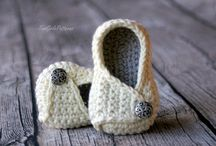 slippers, shoes, booties crochet