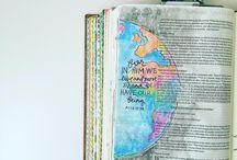 Bible journaling+++++