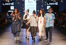 Lakme Fashion Week - INIFD Gandhinagar / INIFD Gandhinagar Students visit Lakme Fashion Week 2016