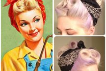Hairstyle 50's