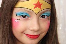make up art niños