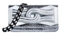 Disco Fever Bags / Metallic, white + silver bags, bags to get your groove onto...