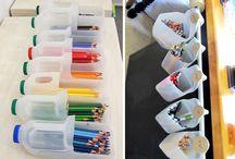Organizzazione scrivania bimbi