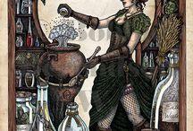 Steampunk čarodějka