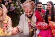 Virat-Anushka Wedding pics, Holiday Pics