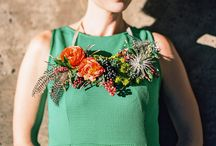 Flower Necklace Tutorial | Brittany of Hana Style Designs Northern Colorado fine art floral designer
