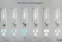 Niveles de azúcar del Champagne