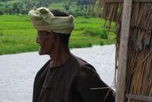 Inle Lake, Myanmar / Beautiful Inle lake in Myanmar, tranquil, peaceful and great people
