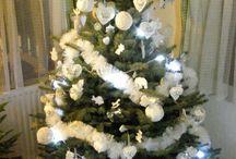 vánoce v Benátkách / Bílé vánoce jsem chtěla vytvořit i u nás doma.