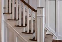 Home Interior: Exposed Staircase