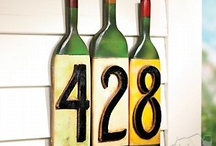 Wine Related Products / Other unique wine products for your home.