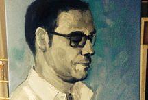 Portrait series / Oils on canvas, Paris-London 2014