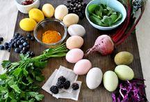 colori naturali x uova ed altro