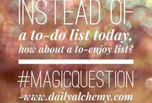 Magic Questions