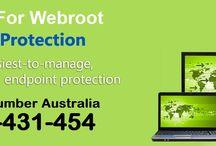 Contact 1-800431454 Webroot Antivirus Support Australia