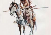 Western art that kicks ass! / Really great western art
