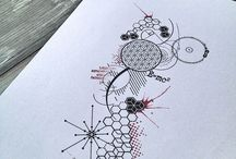 Tatouage abstrait