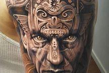 Aztek tattoo