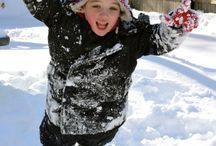 kids&snow