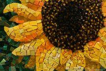 Dun flowers moasic