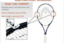 Tennis Racquets Technology / Head Tennis Racquets Technology , YONEX Tennis Racquets Technology, Wilson Tennis Racquets Technology , Best Tennis Racquets