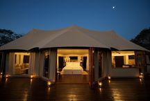 Thanda Safari Lodge, Kwa-Zulu Natal, South Africa / Luxury Game Lodge  The reserve offers guests a choice between the opulence of the main lodge and the rugged refinement of the safari-style tented camp. Both options offer five star accommodation and service in very private surroundings. Thanda, meaning 'love' in Zulu, unites luxury with Zulu culture and wildlife.