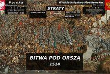 Bitwy z udziałem Polski!