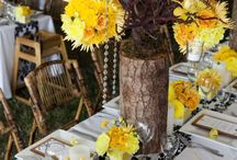 Yellow Bouquets, Flowers, Decor / Yellow Bouquets, Decor, and Floral Ideas and Inspirations