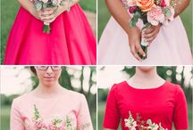 / red / wedding inspiration / add a splash of red to your wedding for a bright, beautiful day