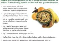Healthy Breakfast Options / by Tiffany Cash