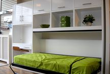 wall bed/guest bed