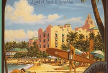 travel Postcards / vintage, retro, old-fashioned postcards of travel locations around the world.