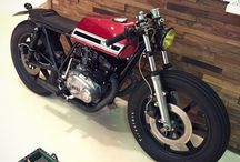 Yamaha XS500 / Inspiration for my XS500 project