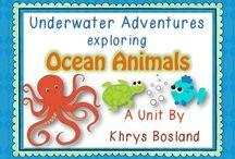 Ocean Unit-Kindergarten / by Kelly Feldkamp